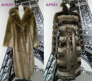 9d0dbc0f455 Celle ci permettra de rajeunir tout simplement votre manteau ou votre veste  de manière économique. Votre fourrure aura plus d allure et cela vous  permettra ...